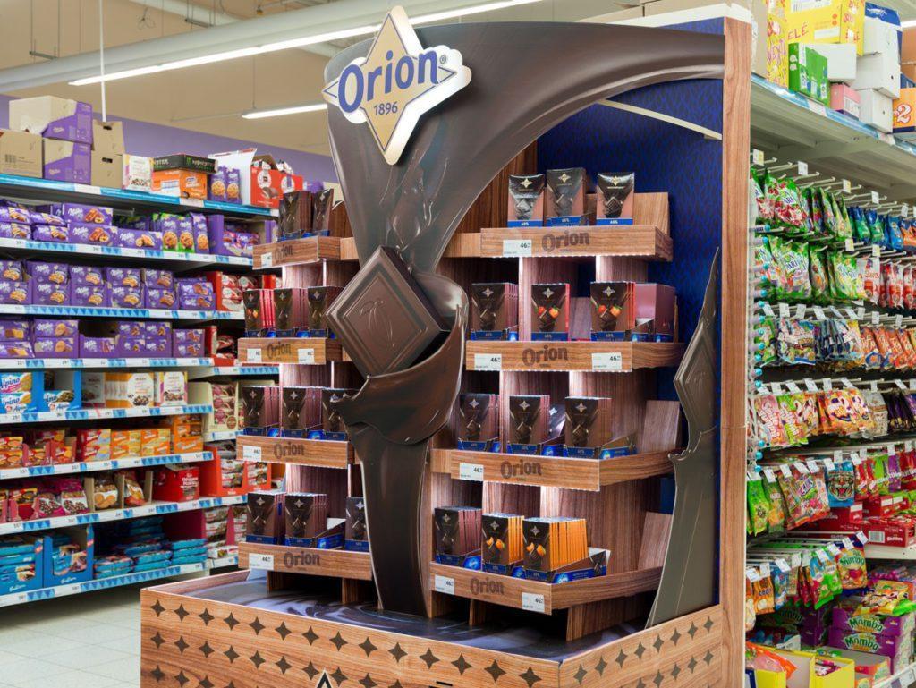 Vůně čokolády ORION - STORE MEDIA