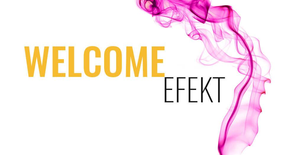 Welcome effect - STORE MEDIA
